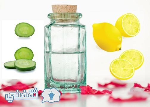 how-to-remove-tan-from-face-Cucumber-Rose-Water-and-Lemon-Juice-Pack
