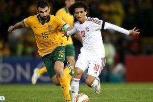 موعد مباراة الإمارات وأستراليا يوم الثلاثاء 28-3-2017 والقنوات الناقلة في تصفيات آسيا المؤهلة لكأس العالم 2018