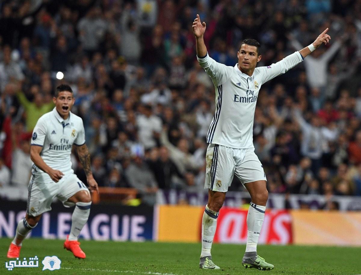 نتيجة مباراة ريال مدريد وسبورتنج لشبونة اليوم
