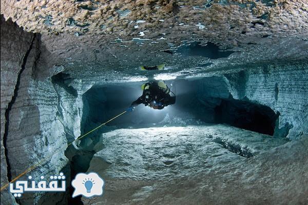 اكبر كهف تحت الماء