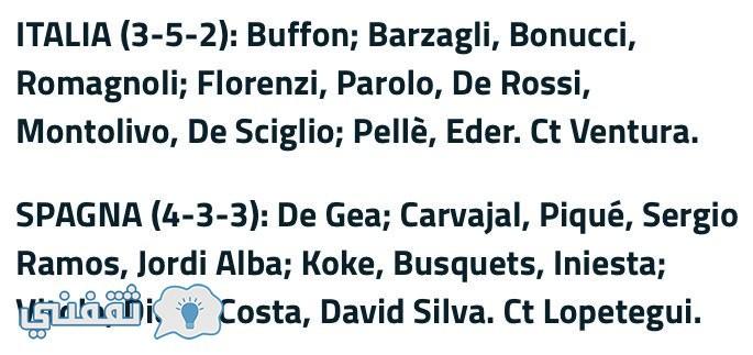 موعد مباراة اسبانيا وإيطاليا اليوم