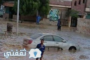 محافظات البحر الأحمر وصعيد مصر تغرق في السيول