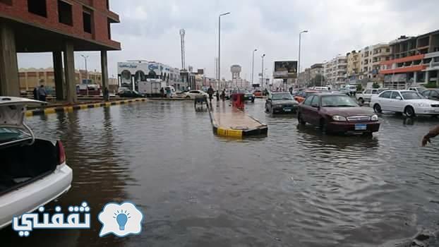 السيول تجتاح البحر الأحمر وصعيد مصر