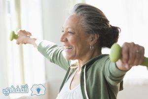 دقائق قليلة من ممارسة الرياضة تمكن من الوقاية من الأمراضوالبعد عنزيادة الوزن لدى النساء في سن اليأس