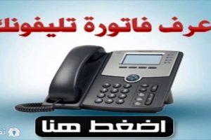 فاتورة التليفون المنزلي لشهر يناير 2017 عبر موقع الشركة المصرية للاتصالات billing.te.eg