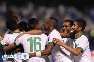 ملخص ونتيجة مباراة المنتخب السعودي مع سلوفينيا اليوم  استعداداً لبطولة كأس العالم عام 2018