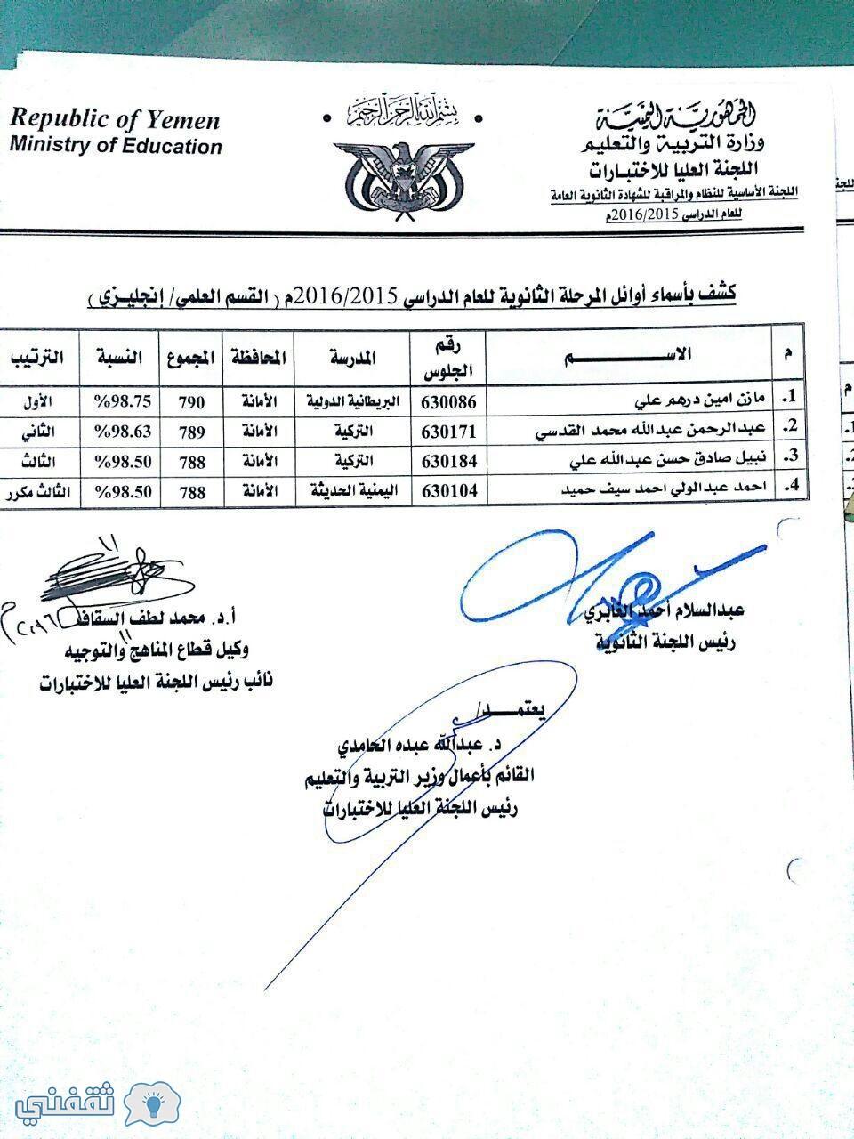 نتيجة-اليمن