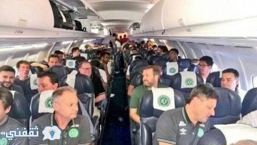 اللحظات الأخيرة للفريق قبل تحطم الطائرة