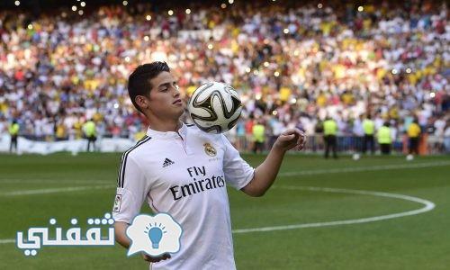 خاميس رودريجيز على أعتاب مغادرة ريال مدريد وصراع للحصول على خدمات الكولمبي