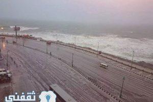 درجات الحرارة اليوم الأثنين في مصر  وبداية طقس شديد البرودة ودرجة الحرارة تصل لـ5 درجات علي بعض المحافظات