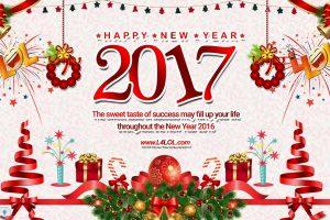 تشكيلة صور ورسائل تهنئة بالعام الجديد 2017 أحدث مسجات وصور كروت السنة الجديد 2017 Happy New Year