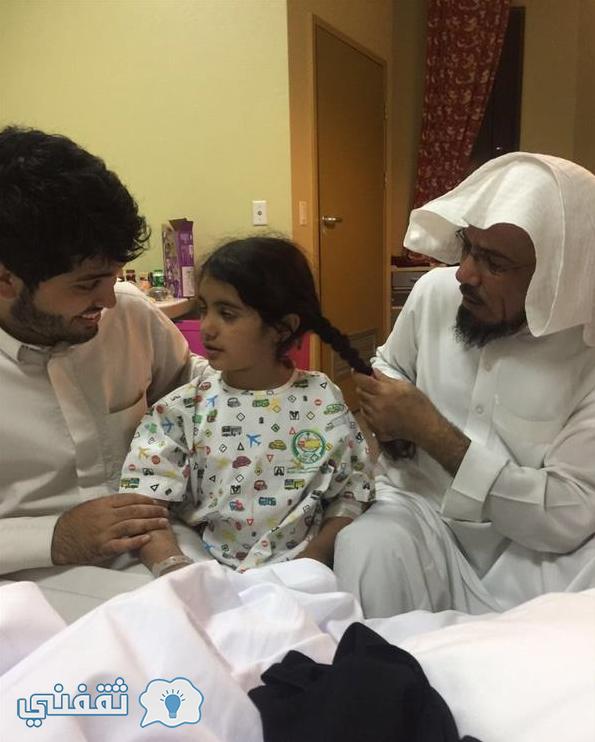 بنت الدكتور سلمان العودة بالمستشفي
