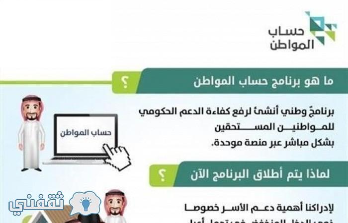 برنامج حساب المواطن