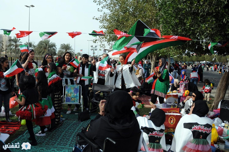 صور الإحتفال بالعيد الوطني للكويت 2017