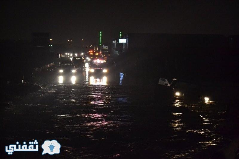 أمطار الرياض والطقس في السعودية