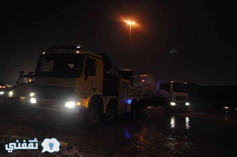 سيول أمطار الرياض 1438
