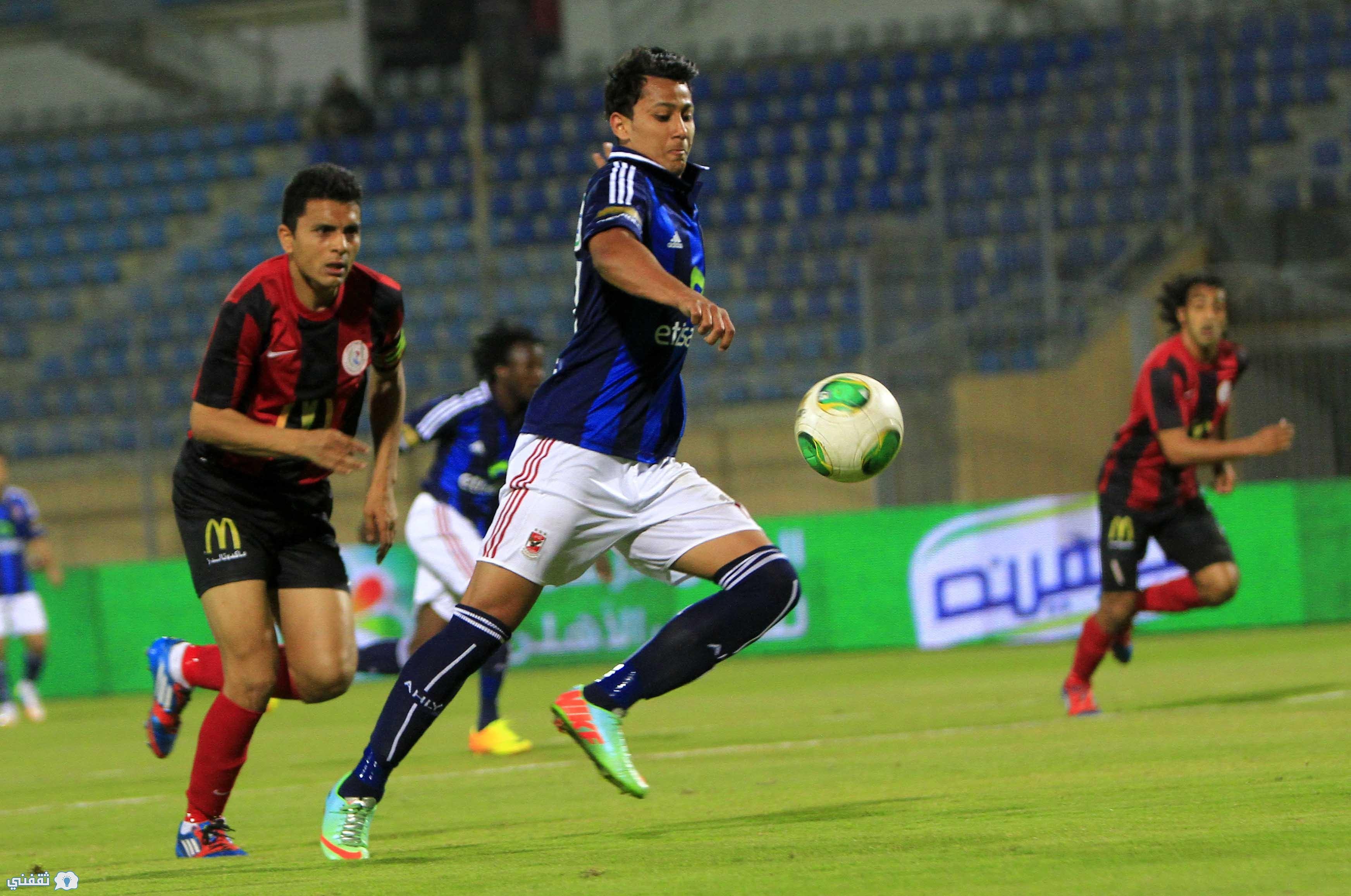 تشكيلة الأهلي أمام الداخلية اليوم 1-4-2017 في الدوري المصري والدفع بـ ميدو جابر