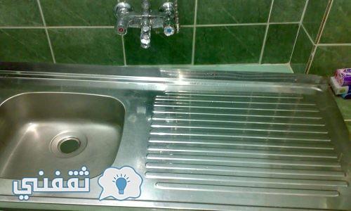 طرق تنظيف حوض المطبخ في دقيقة واحدة