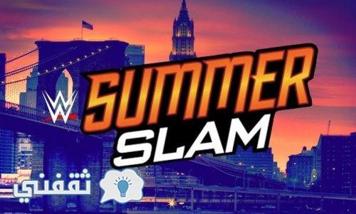 سمر سلام 2017 Summer Slam : نتائج عرض سمر سلام 2017 اليوم