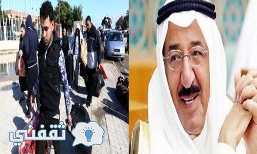 الكويت : قرار بتخفيض أعداد الوافدين العاملين في تلك القطاعات وترحيل العمالة الوافدة لتوفير فرص عمل للكويتيين بناء على أمر مباشر من مجلس الوزراء