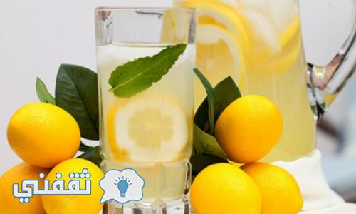 تناول مشروب الماء بالليمون لمنع الحمل والعديد من الفوائد الاخرى