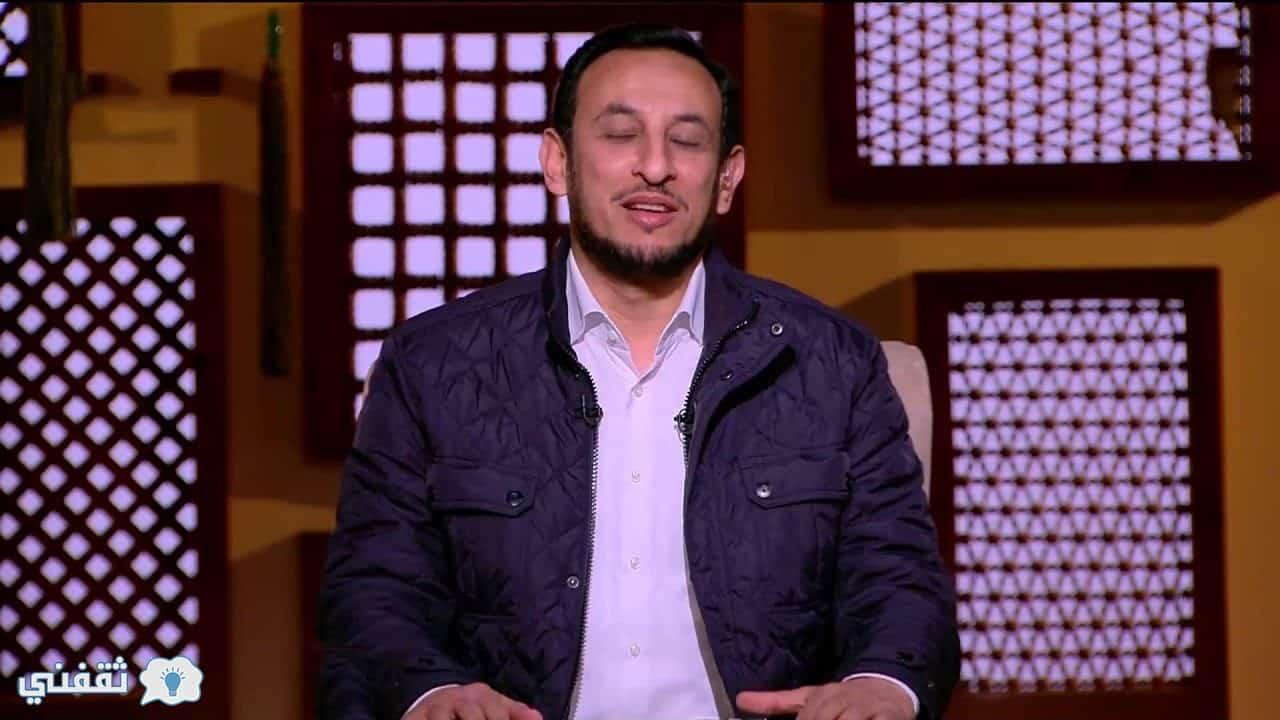 """الشيخ """"رمضان عبد المعز"""" آيه من القرآن الكريم هي المفتاح السحري لكل هموم الإنسان"""