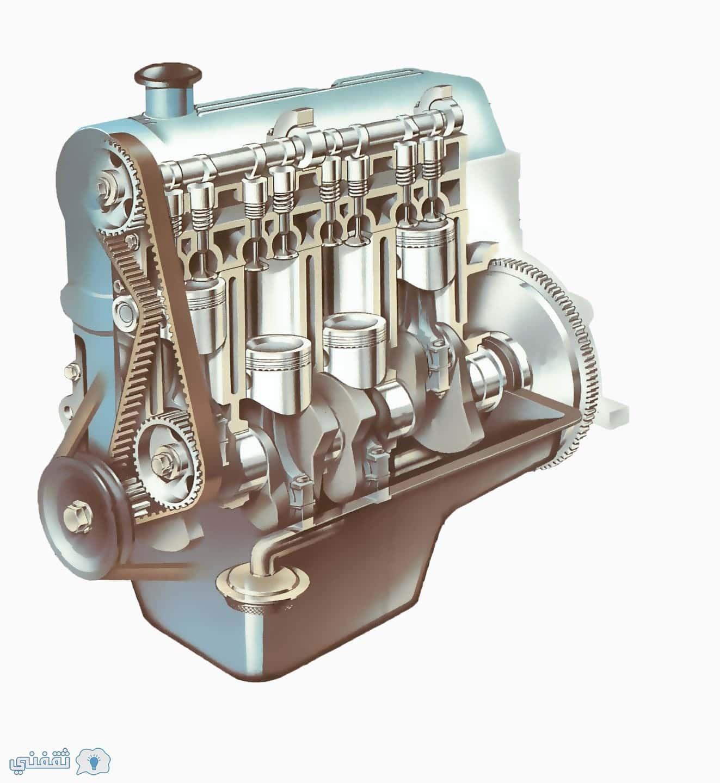 تعرف علي السيارات 1- نظرية عمل المحرك