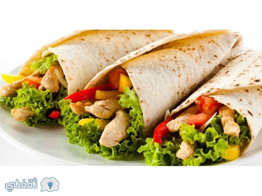 طريقة عمل شاورما فراخ والطعم أحلى من المطاعم