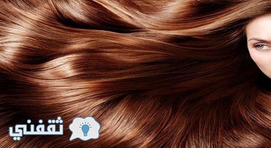 طرق صبغ الشعر باللون البني بمكونات طبيعية سهلة وبسيطه من منزلك