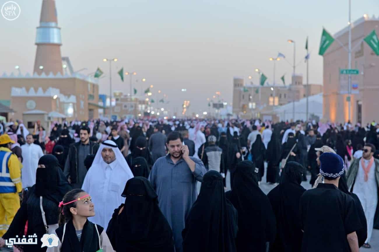 أكثر من مليون مواطن سعودي بمهرجان الجنادرية