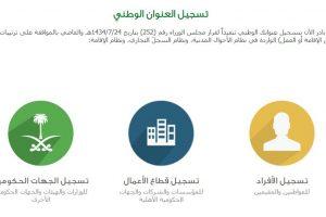 العنوان الوطني برقم الهوية 1440 موقع واصل البريد السعودي للتحقق من العنوان الوطني للأفراد