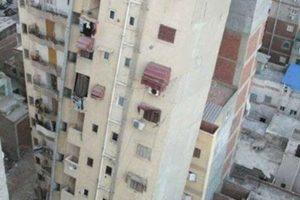 انهيار عقار اَخر للمرة الثانية بمنشاة ناصر بالقاهرة