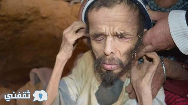 اكتشاف صادم .. العثور على عجوز يعيش في كهف منذ 15عام وطعامه الديدان والفضلات