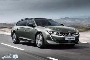 تنضم سيارة Peugeot 508 SW الجديدة إلى الصالون في طابور