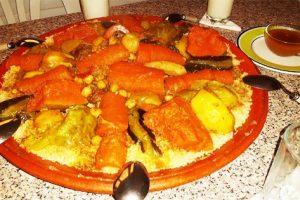 أسهل طريقة لتحضير الكسكس المغربي بالخضار ستندهش من الطعم المميز