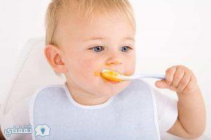 أكلات للأطفال من سن ستة أشهر