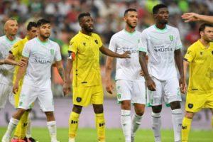 نتيجة مباراة الأهلي والحزم الدوري السعودي للمحترفين السومة يسجل