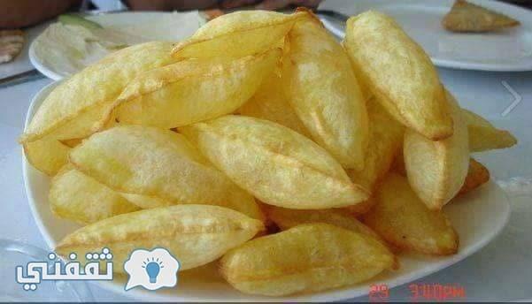 البطاطس المنفوخة المُقرمشة