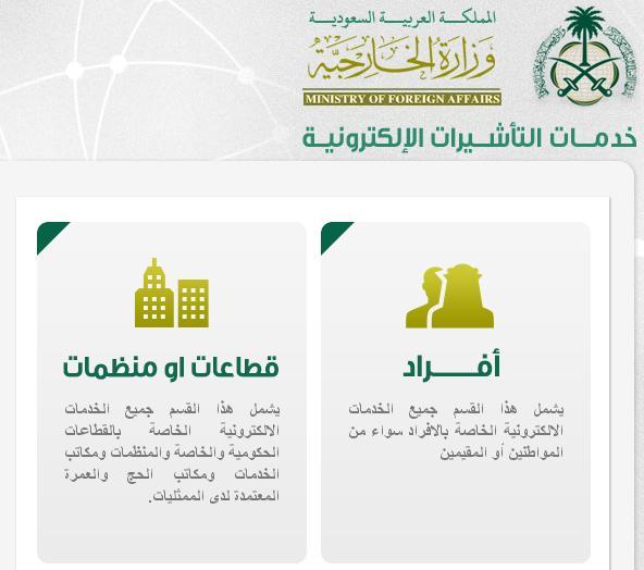 استعلام عن تأشيرة زيارة عائلية للسعودية