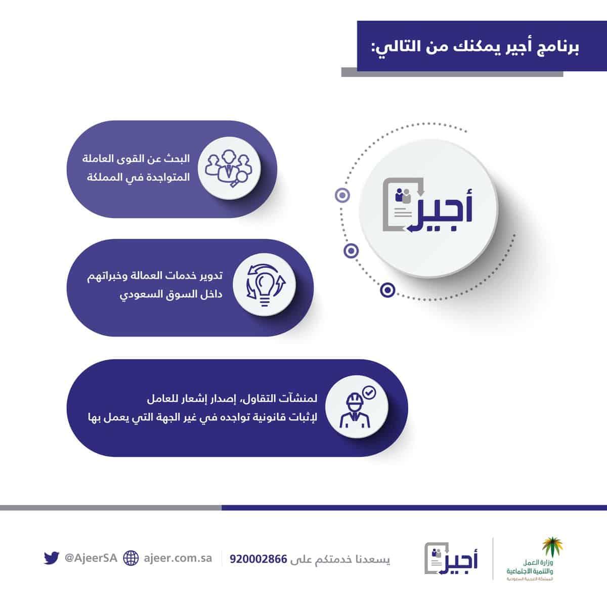 نظام أجير لخدمات الأعمال