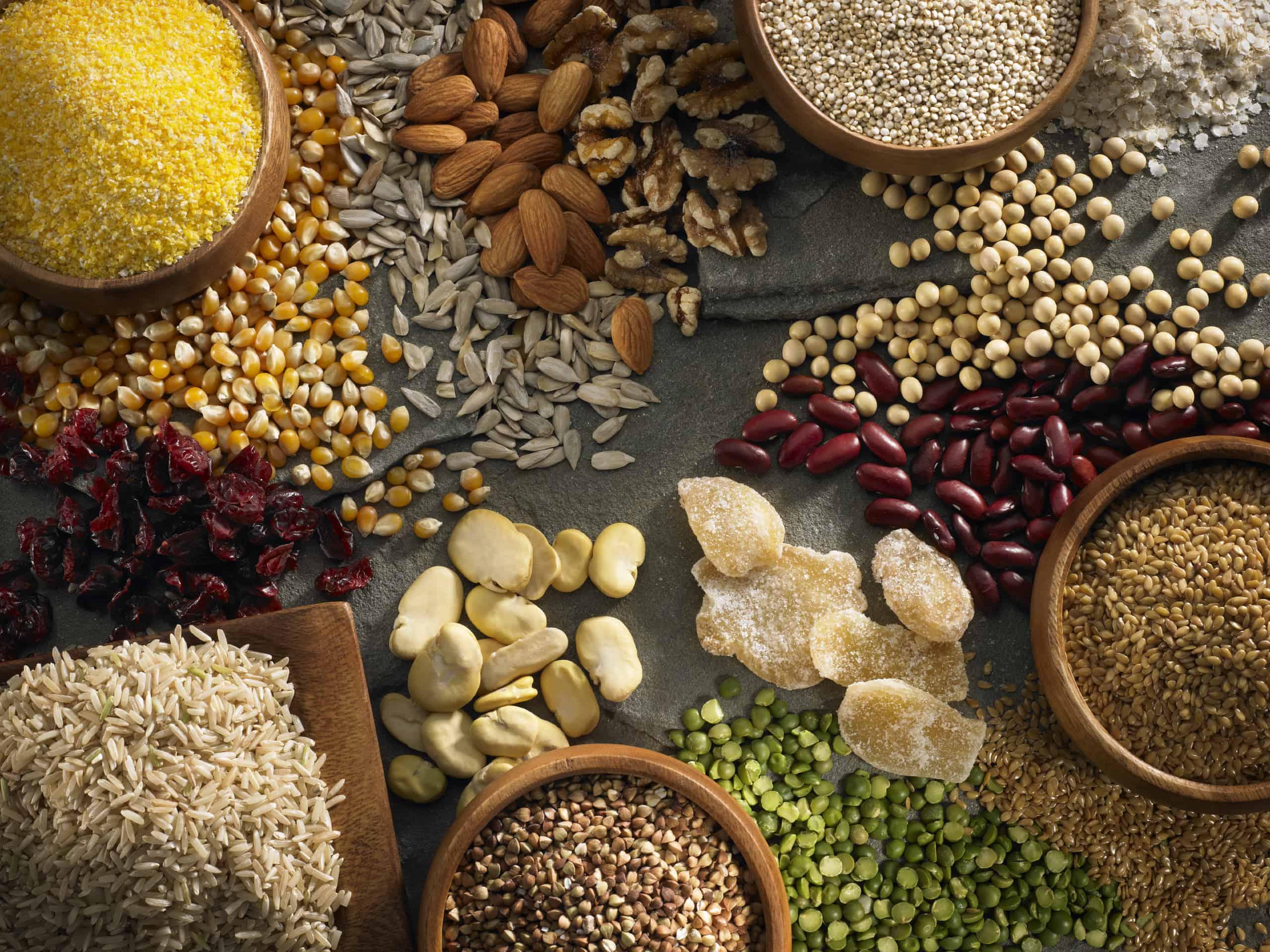 الحبوب الكاملة لصحة الحامل