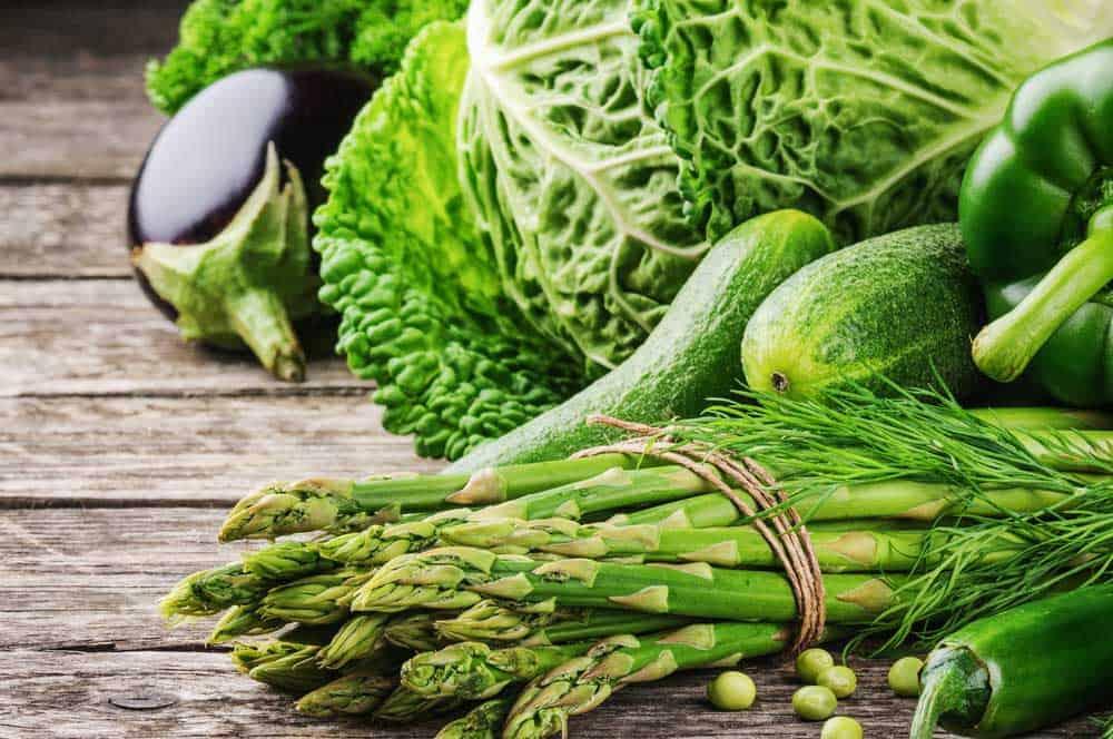 الخضروات الخضراء لصحة الحامل