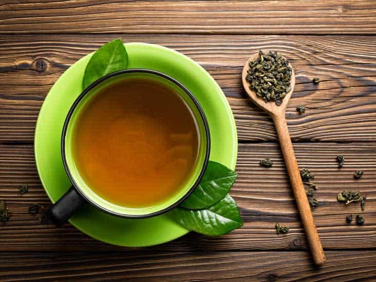 الشاي الأخضر لمنع الجذور الحرة