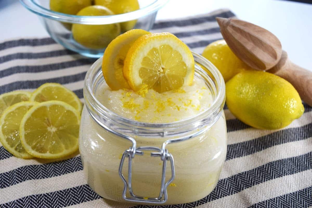 مقشر السكر و الليمون