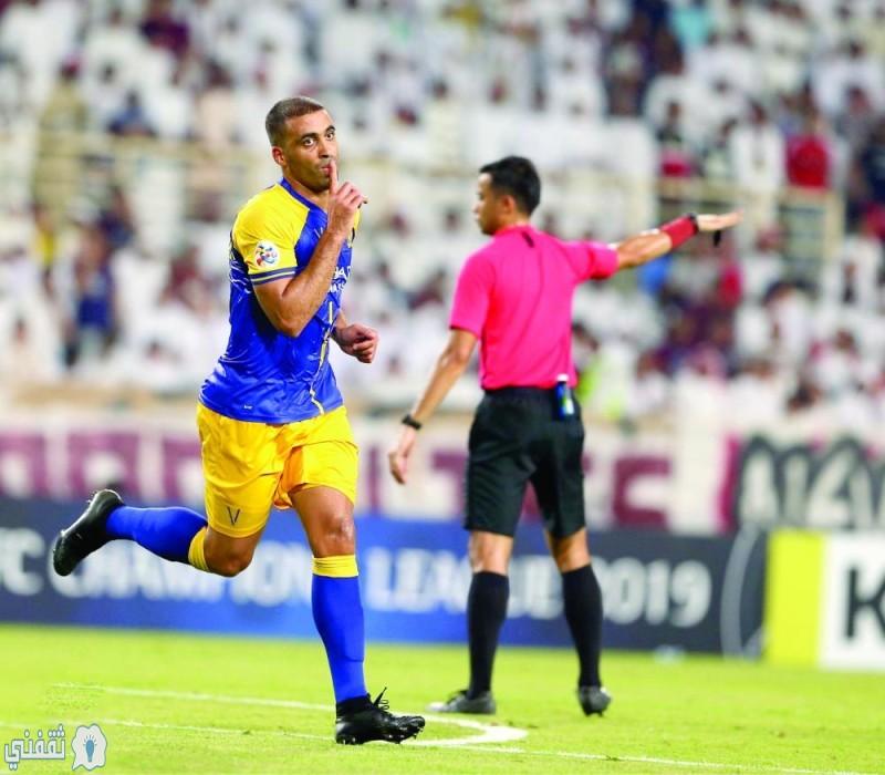 مباراة النصر والحزم اليوم بالدوري السعودي