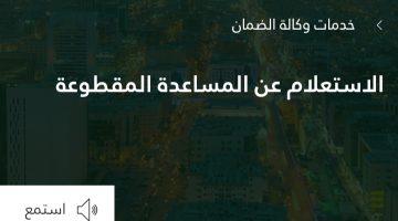 أنباء عن أسماء المستفيدين من المساعدات المقطوعة | رابط الاستعلام عن موعد إيداعها عبر وزارة العمل