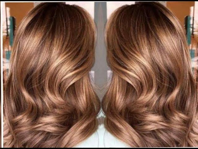 طريقة صبغ الشعر لون بني فاتح بندقي كراميل في دقائق بمكونات طبيعية تجعل شعرك  غاية في الجمال