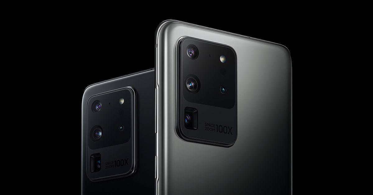 شركة سامسونج ترفع الستار عن هاتفها الجديد Galaxy S20 Ultra Limited Edition White