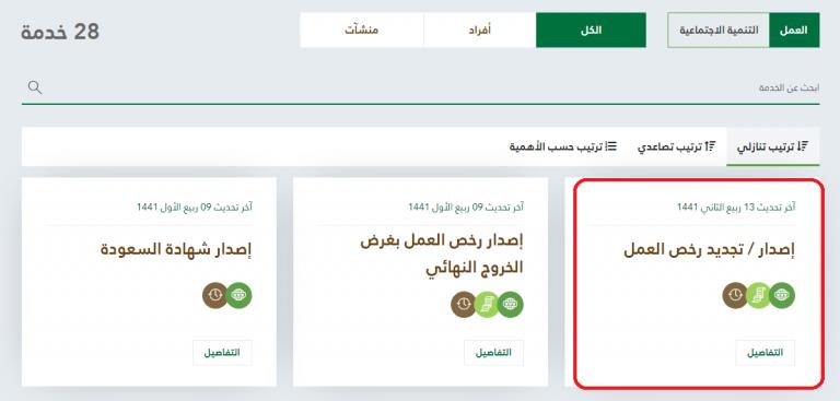 طريقة الاستعلام عن رخصة العمل برقم الاقامة في السعودية ثقفني