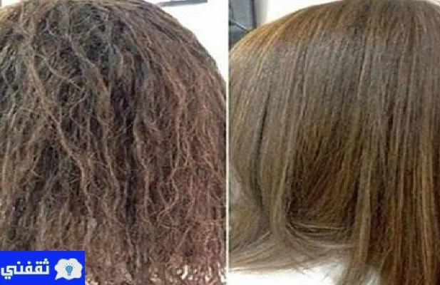 علاج الشعر المتضرر من الصبغة